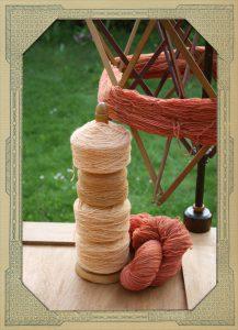 Sandelholz und Rote Beete Färbung