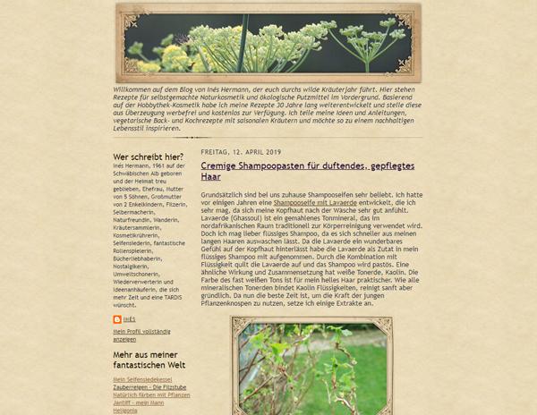 Kräutertagebuch